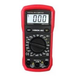 Multimétro digital HIBOK 80