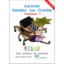 Libro Aprende Robótica con Crumble - Volumen 1