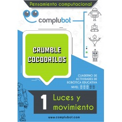 Crumble Cocodrilos 1 - Luces y movimiento